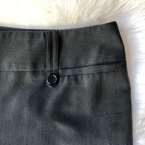 Cropped Charcoal Slacks